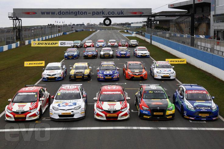 British Touring Cars 2013 season grid of cars