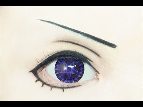 ▶ Tutorial : Anime Eye Makeup 164 • Ciel Phantomhive - YouTube