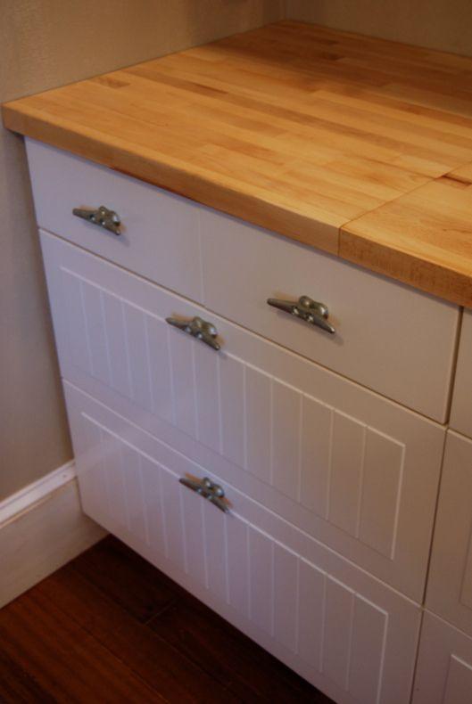 Kitchen cabinet cleats mf cabinets - Nautical kitchen cabinet hardware ...