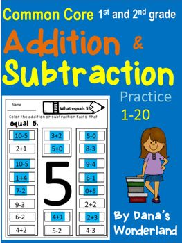 Addition and Subtraction Worksheets | Subtraction Worksheets ...