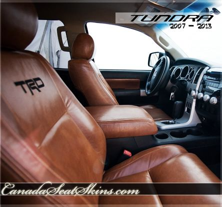 2007 - 2013 Toyota Tundra Premium Leather Package - Order Yours Online at canadaseatskins.com #leather