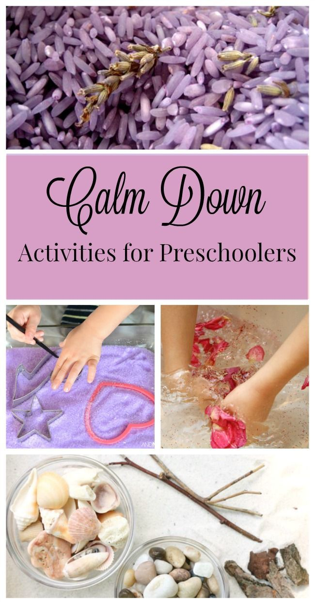 Calming activities for preschoolers - perfect for my busy boys!