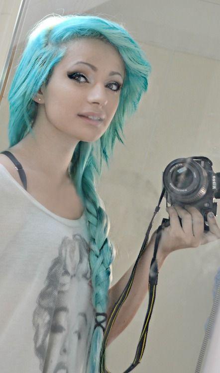 9 aqua blue hair color