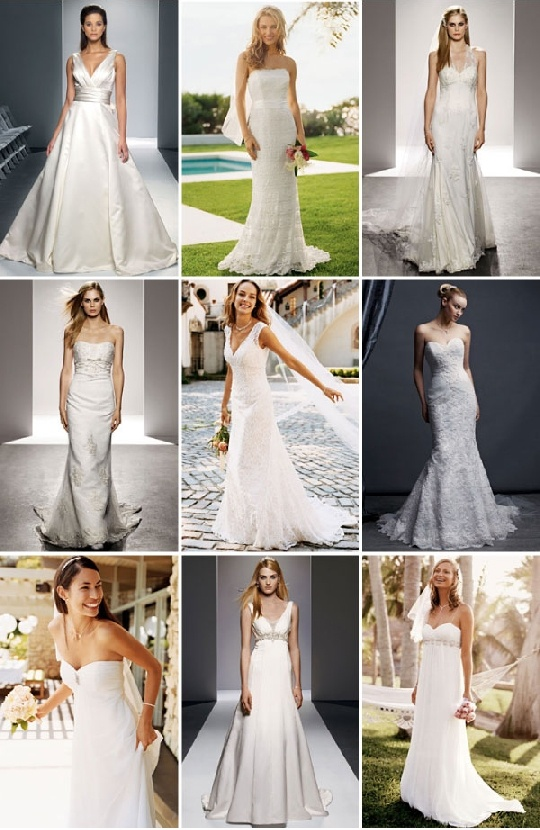 bottom right hand corner was my dream dress. =) Exactly what I went in looking for.