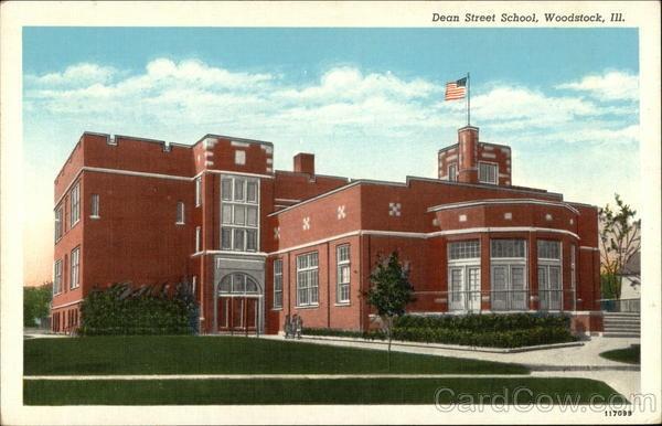 Dean Street School Woodstock Illinois