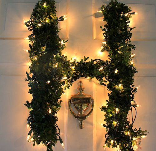 Diy Letter Wreaths Holiday Pinterest Party