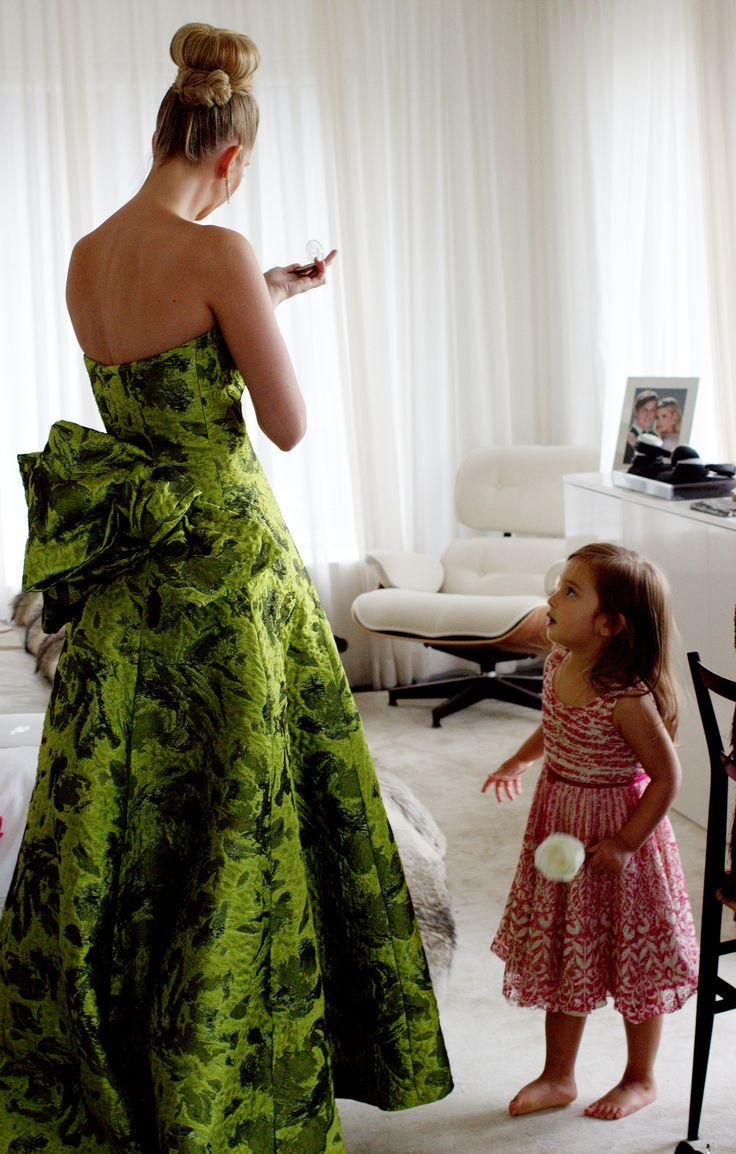 BTS with Ivanka Trump #MetBall2014
