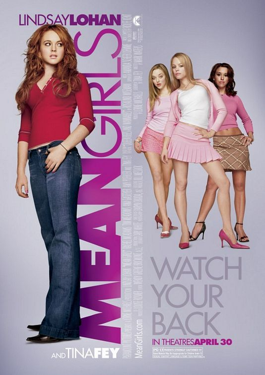 Mean Girls represents Hilly, as well as her little controlled posse in the league. Lindsay Lohan in this portrays Skeeter because she eventually finds who she is and who she wants to be. Hilly represents Rachel McAdams because she's the leader of the pack and influences so many people. She is also a flat out brat.