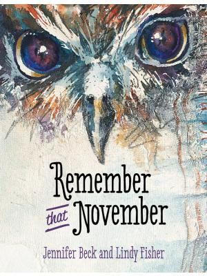 """""""Remember that November"""", by Jennifer Beck and Lindy Fisher. It's almost Guy Fawkes Night, and at the school speech competition Andy talks about Guy Fawkes and the Gunpowder Plot. The children cheer excitedly, thinking Andy will win the contest. But then, Aroha gets up, wearing a white feather in her hair, and tells the story of another fifth of November - the invasion of Parihaka in 1881. Published in Māori as: Maumahara ki tērā Nōema."""