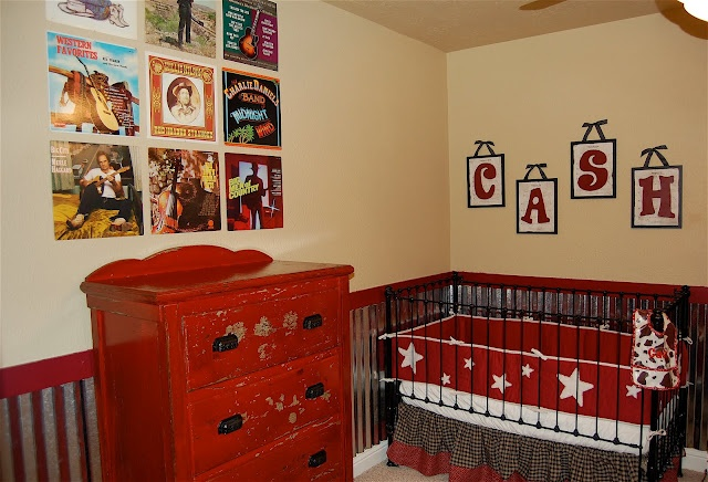 Cute Country Music Nursery Theme! I love the idea, but might change the genre to ROCK N' ROLL!!