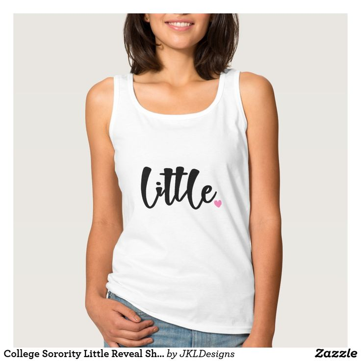 College Sorority Little Reveal Shirt