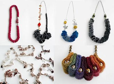 gioielli #crochet #jewels