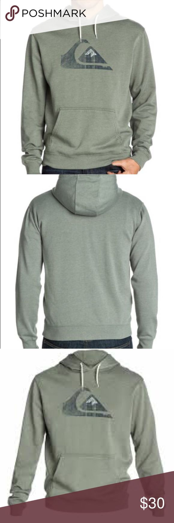 🆕Quicksilver Mens Prescott Pullover Hoodie The Quiksilver Men's Prescott Pullover Hoodie is a great way to welcome in the cooler months of the year. Made with a cotton poly blend fabric, you'll be able to comfortably stay warm no matter where your day takes you.  High Quality Materials 60% Cotton, 40% Polyester. Hood Rib Fleece. Brushed Cotton Polyester. Regular Fit. White Contrast. Rib at Cuffs and Hem. Quiksilver Sweaters