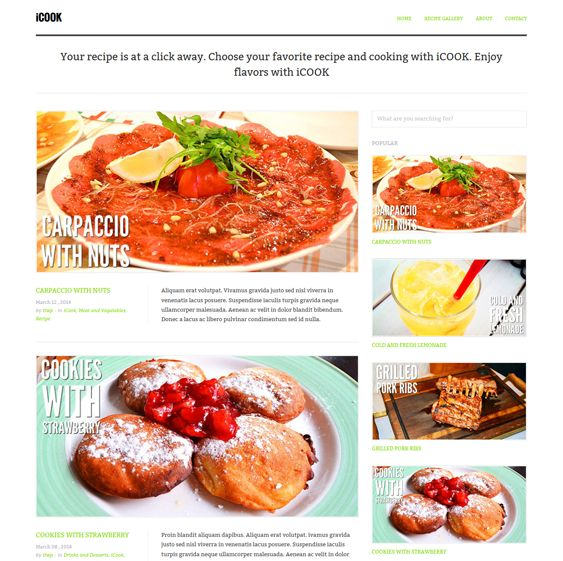 12 mejores imgenes de 12 more of the best wordpress themes for this wordpress theme for food websites comes with social sharing a responsive layout a forumfinder Images