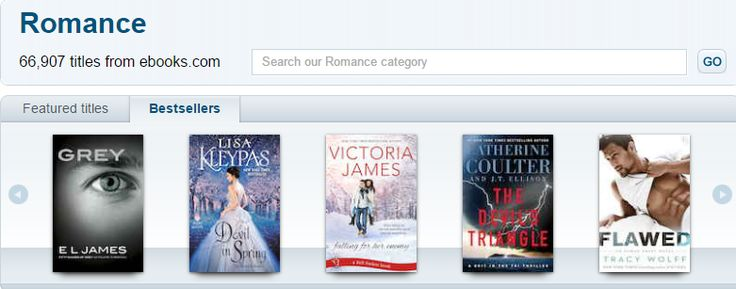 Today's best selling Romance eBooks and novels on sale.