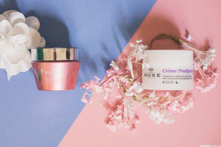 Vichy VS Nuxe : le match des crèmes de nuit défatigantes