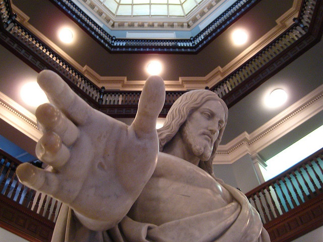 The Divine Healer, Christus Consolator, Johns Hopkins Hospital, Baltimore, Maryland