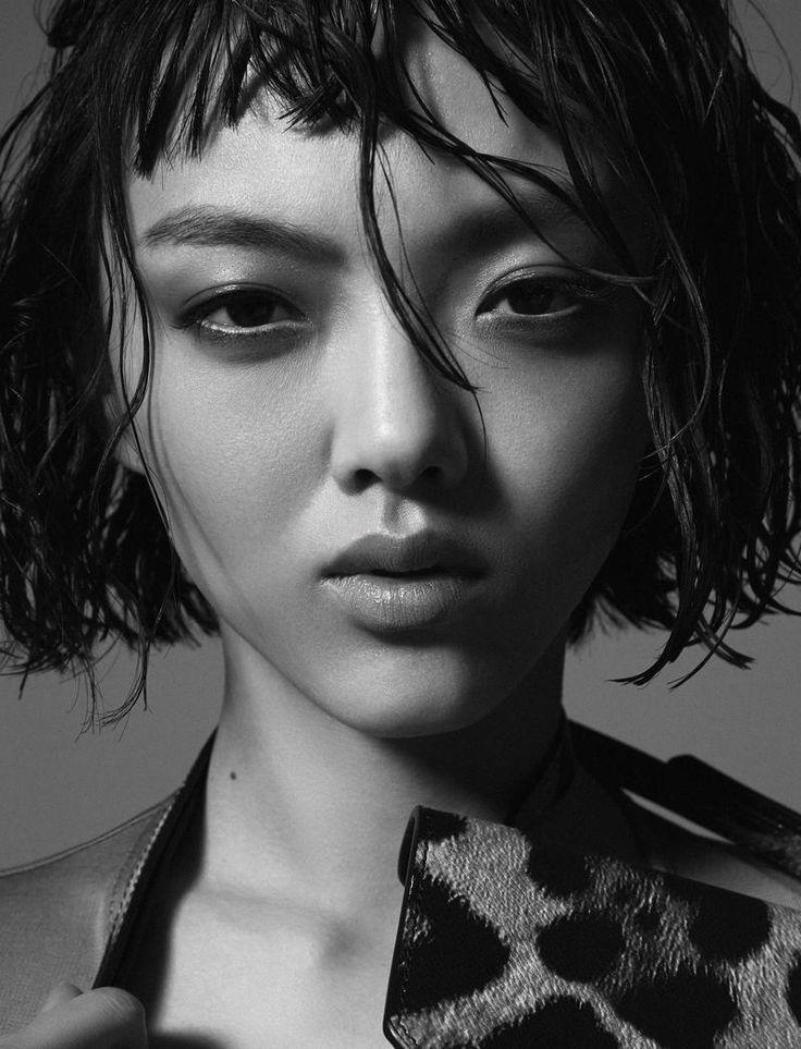 Rila Fukushima stars in Harper's Bazaar Kazakhstan Magazine February 2016 issue