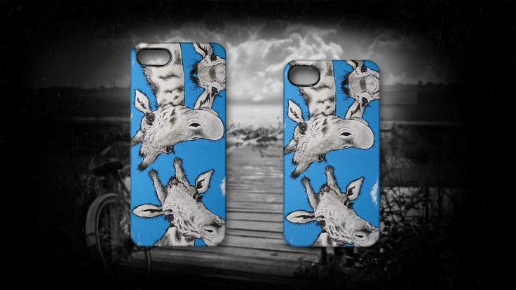 'The Tall Story' by Sally Ford. #Giraffe #Cute #Funny #Art #iPhone #Cases #Artmoilis