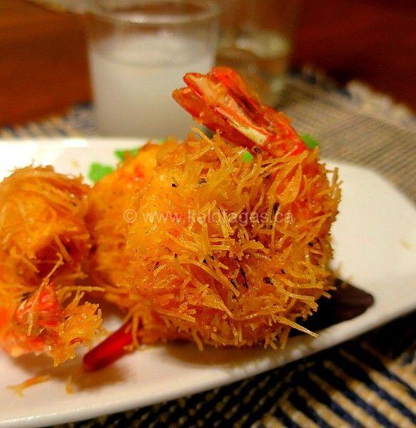 Kataifi Shrimp via Sandra Angelozzi