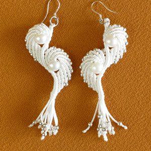 Angel Wings - Macrame Earrings Tutorial