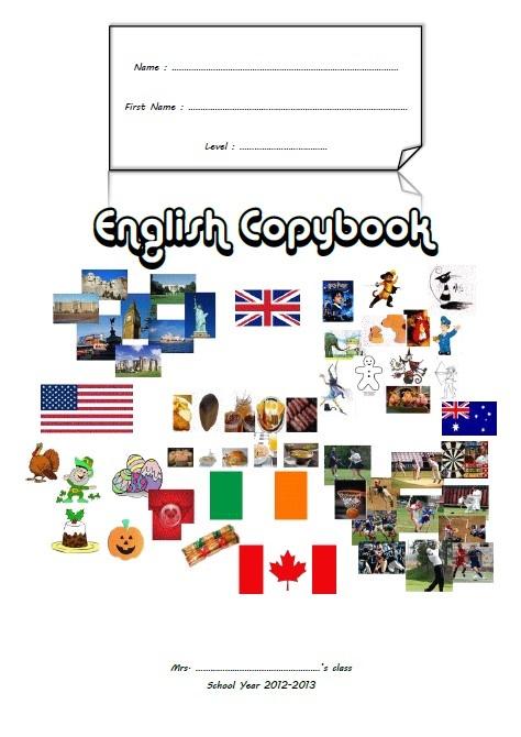 page de garde anglais   Page de garde anglais, Anglais ...