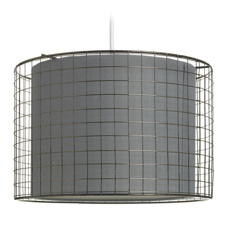 Wilko Shade Wire Cage Grey