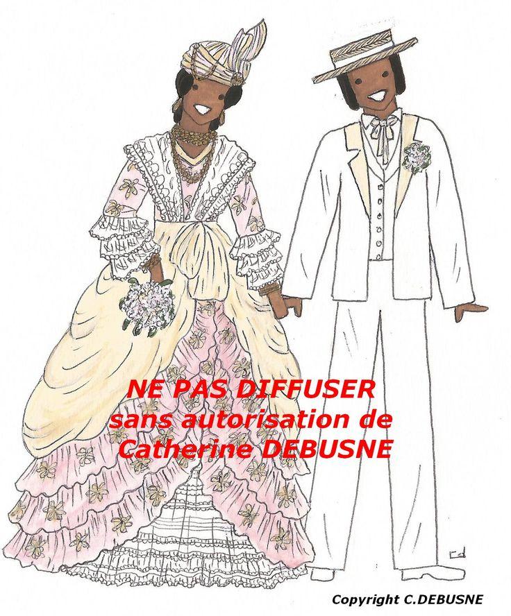 Guadeloupe. Mention ROUGE qui sert à protéger mes dessins, qui sont volés, sans mon autorisation, ni mention de mon nom. MERCI de votre compréhension