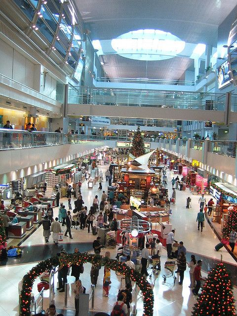 Destination 'Dubai, UAE, West Asia' Dubai Airport- Been there loved it