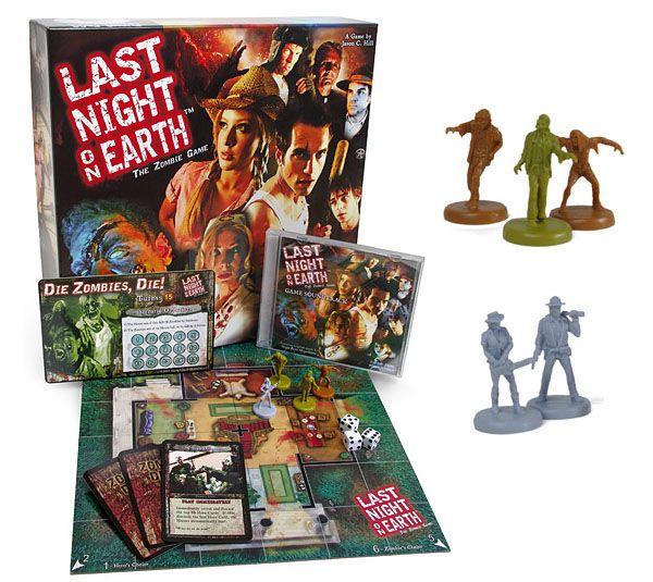 Last Night on Earth Zombie Board Game