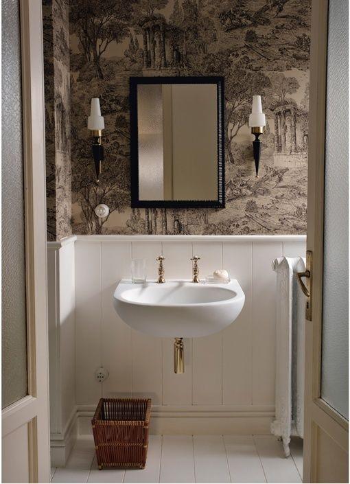 Lavados diferentes para baños de estilo romántico francés