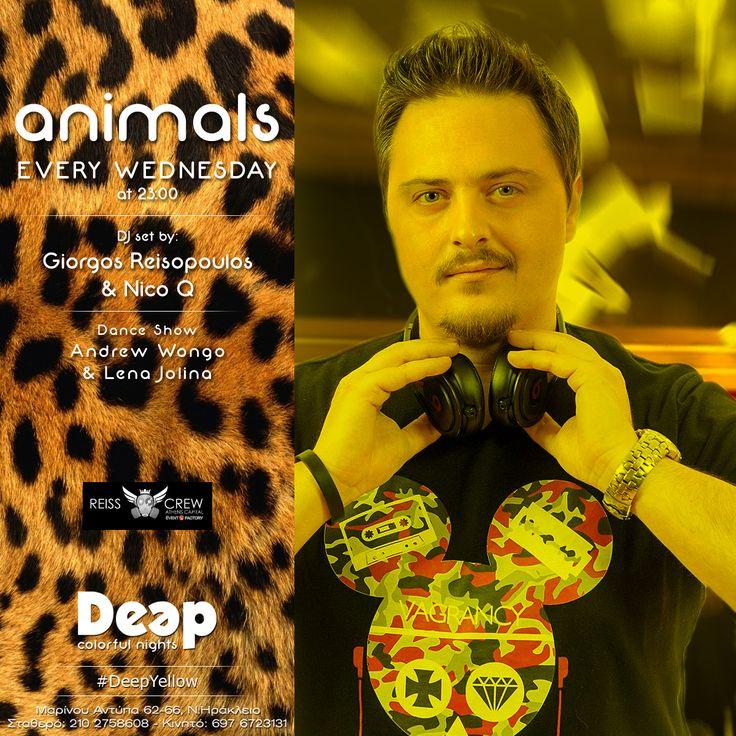 #DeepYellow #WednesdayNights #GuestDJ Giorgos Reisopoulos