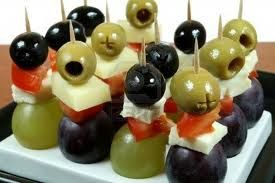 party food on cocktail sticks - Google Search