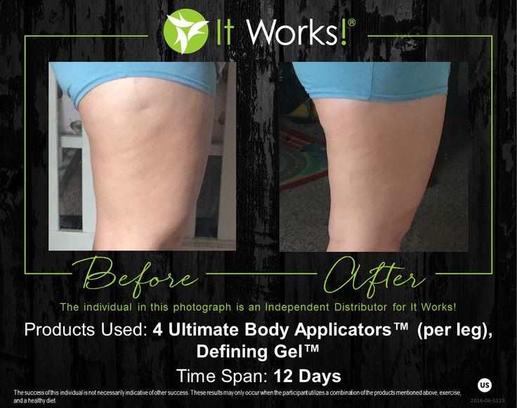 Check out these ultimate results from using a combination of our products!