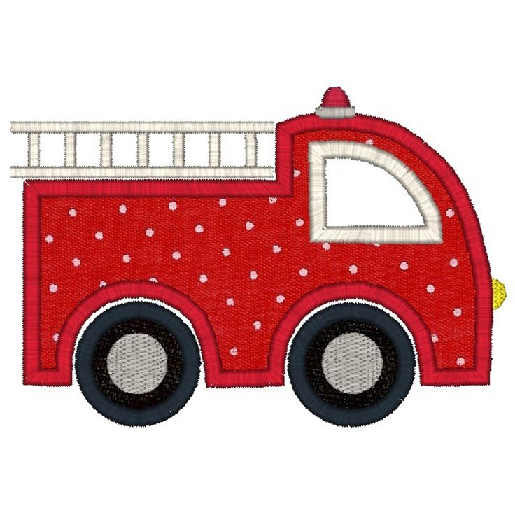 Fire Truck Applique                                                                                                                                                                                 More
