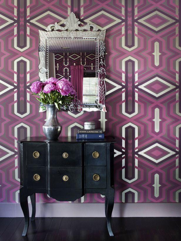Purple: Decor, Interior Design, Radiant Orchid, Idea, Radiantorchid, Purple, 2014 Color, Colors, Wallpaper