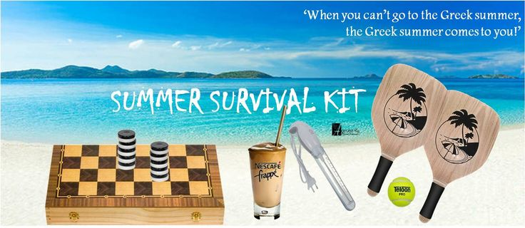 When you can't go to Greek Summer, then Greek summer comes to you! Summer surical kit pack!…