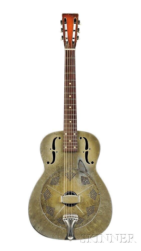 American Resonator Guitar, National String Instrument Company, 1934, Style Duolian