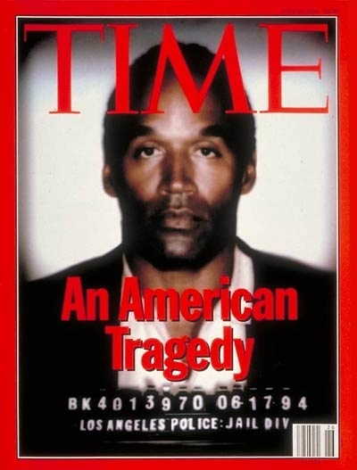 O.J. Simpson........Not lucky on this one!