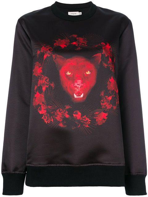 Givenchy Panther Print Sweatshirt - Farfetch