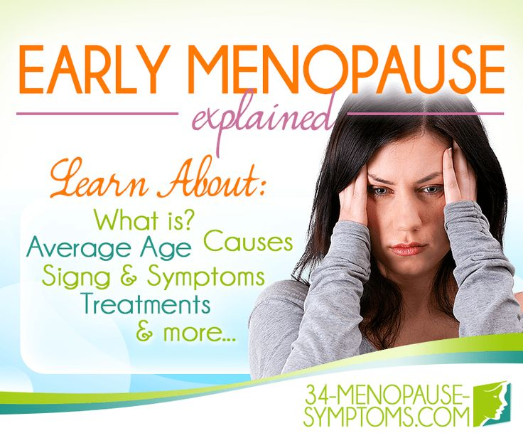 Here is useful information about early menopause. Keep reading to respond any frequently asked questions related to the symptom.