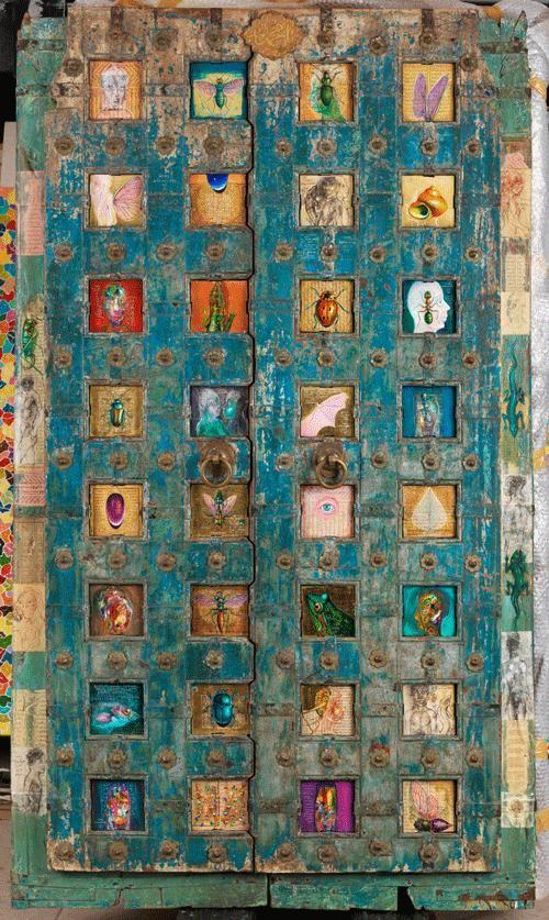 Antique Doors. Indian Art, Indian Handicrafts #Handicrafts #RiseOnly