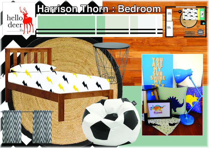 http://www.hellodeer.com.au/blog Mood board for a toddlers room. Follow my blog for tips and advice