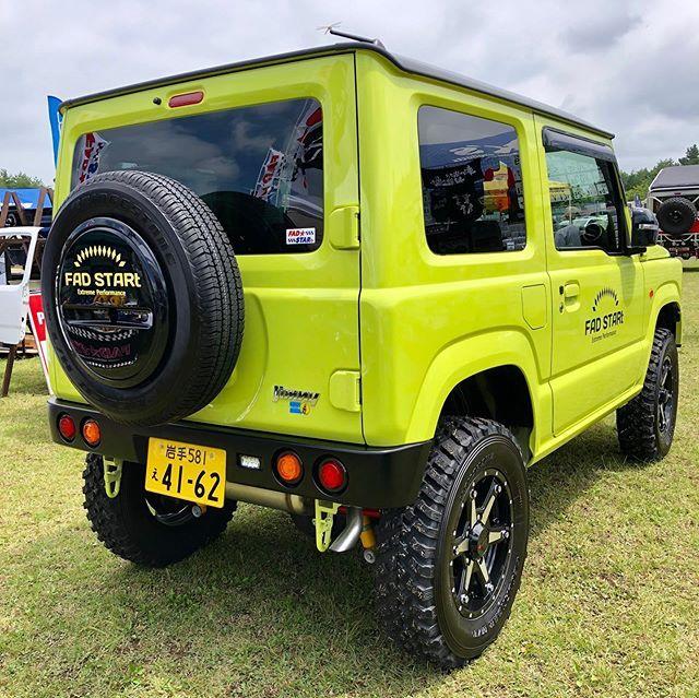 ファッドスターさんはinstagramを利用しています Jb64 丸テールのリヤバンパーが良く似合う Suzuki Jimny Jb23 Jb43 Jmnysierra Suzukijimny Suzukisamurai Jb64 Jb74 4x4 Offroad ジムニー スター 車