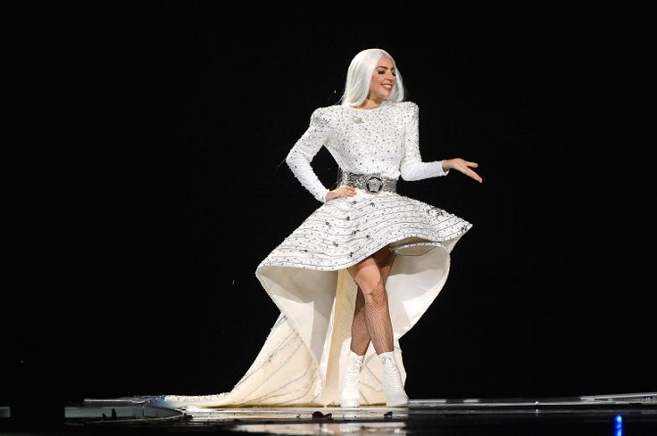 LadyGaga closed the show looking perfect in Versace. #VersaceLovesGaga #VersaceCelebrities #Versace