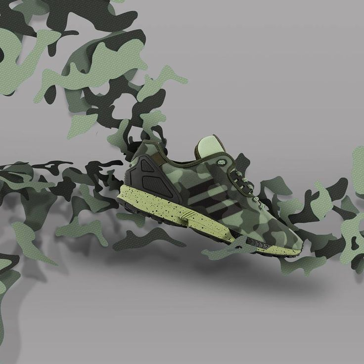 adidas ZX Flux: Camo