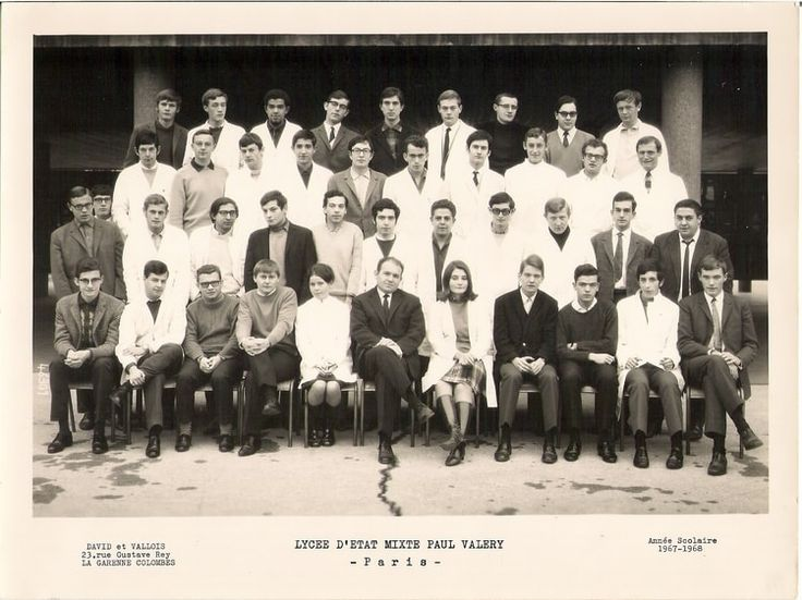 Photo de classe Maths Spé. 1967 - 1968 de 1967, Lycée Paul Valery