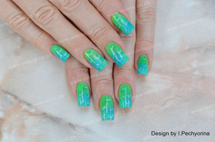 Beautiful Holiday nails for our client. :-) www.velena.co.za