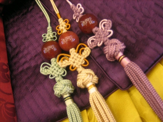 #Hanbok Accessories: Norigae (Hanging Tassel)