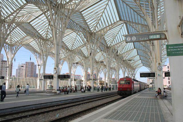 Portugal Lisbon Station Oriente